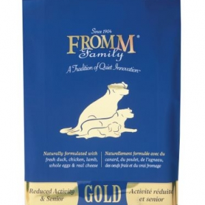 Fromm Reduced Activity Senior Gold Dry Dog Food