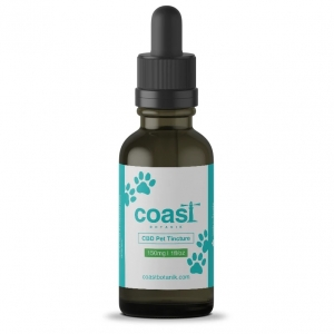 Coast Botanik Full Spectrum CBD Pet Oil Tincture (Small Breed) 150mg