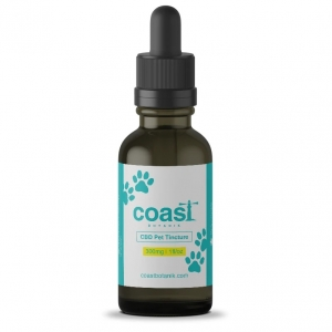 Coast Botanik Full Spectrum CBD Pet Oil Tincture (Medium Breed) 300mg