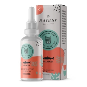 Natuur CBD Oil For Dogs Salmon Flavor