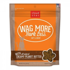Cloud Star Wag More Bark Less Soft & Chewy – Creamy Peanut Butter