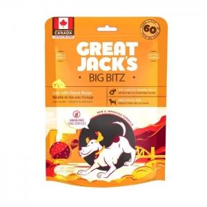 Great Jack's Big BItz Dog Treats – Liver with Cheese Recipe