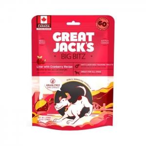 Great Jack's Big BItz Dog Treats – Liver with Cranberry Recipe