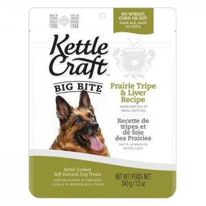 Kettle Craft Big Bite Prairie Tripe & Liver Treats