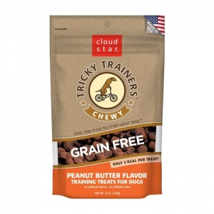 Cloud Star Grain Free Chewy Tricky Trainers – Peanut Butter